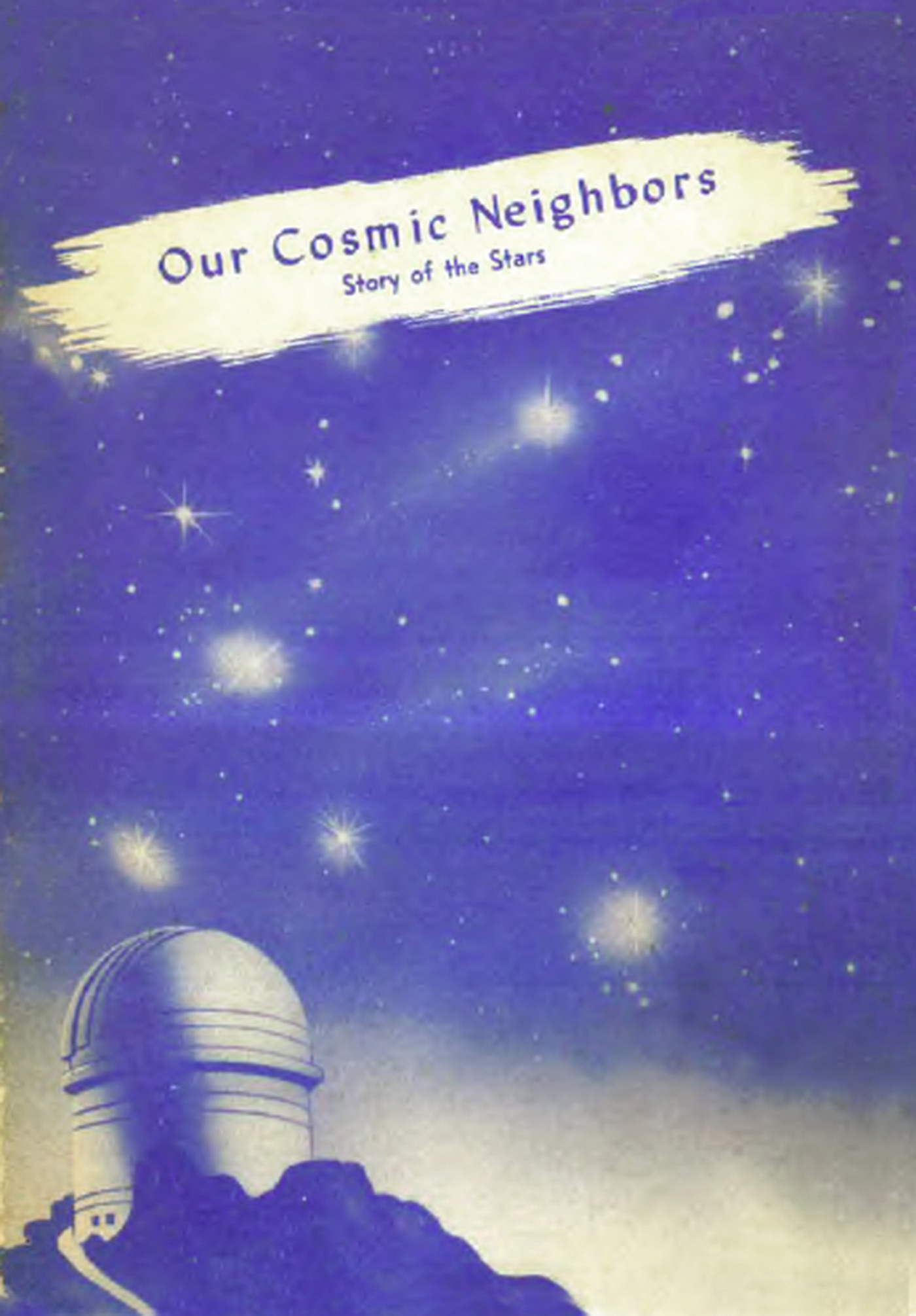 Our Cosmic Neighbors: Story of the Stars